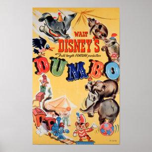 Dumbo  Movie Poster  Movie Barcode  Disney Print  Wall Decor  Panoramic
