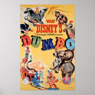 Dumbo Circus Poster