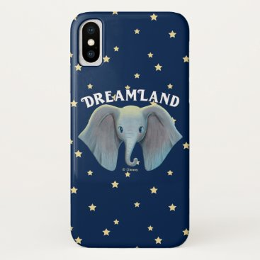 Dumbo   Cute Large Ears Painted Art iPhone X Case