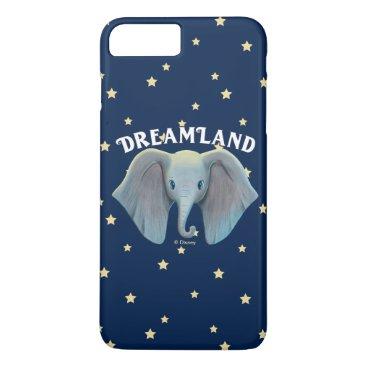 Dumbo   Cute Large Ears Painted Art iPhone 8 Plus/7 Plus Case