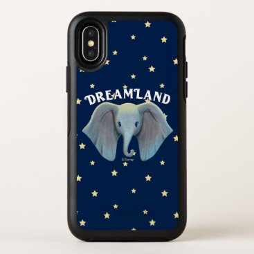 Dumbo   Cute Large Ears Painted Art OtterBox Symmetry iPhone X Case