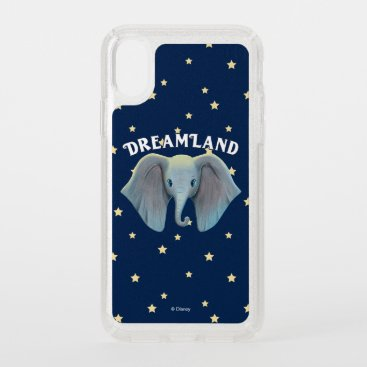 Dumbo | Cute Large Ears Painted Art Speck iPhone XS Case