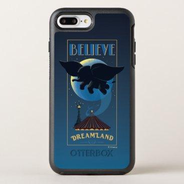 "Dumbo   Dreamland ""Believe"" Attraction Art OtterBox Symmetry iPhone 8 Plus/7 Plus Case"