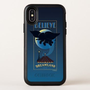 "Dumbo | Dreamland ""Believe"" Attraction Art OtterBox Symmetry iPhone X Case"