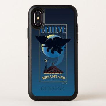 "Dumbo   Dreamland ""Believe"" Attraction Art OtterBox Symmetry iPhone X Case"