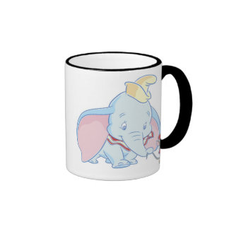 Dumbo Dumbo and Timothy Q. Mouse talking Ringer Coffee Mug