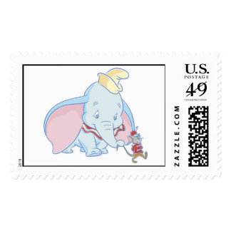 Dumbo Dumbo and Timothy Q. Mouse talking Stamp