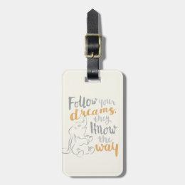 Dumbo   Follow Your Dreams Bag Tag