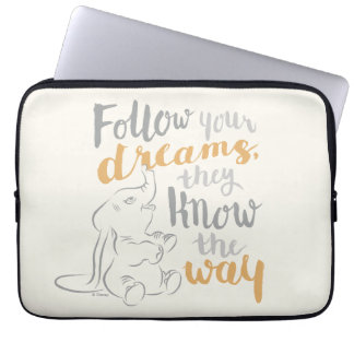 Dumbo | Follow Your Dreams Laptop Sleeve