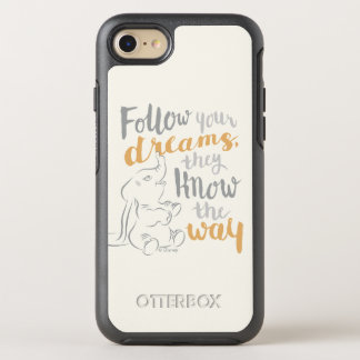 Dumbo   Follow Your Dreams OtterBox Symmetry iPhone 7 Case
