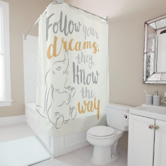 Dumbo | Follow Your Dreams Shower Curtain