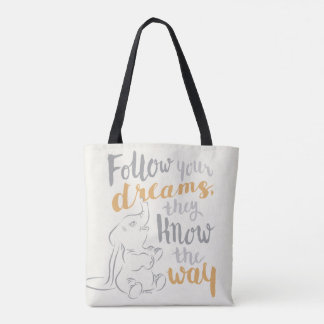 Dumbo | Follow Your Dreams Tote Bag