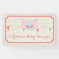 Dumbo | Girl Baby Shower Banner