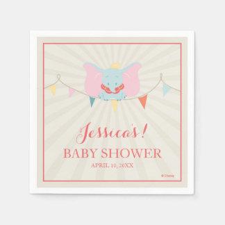 Dumbo   Girl Baby Shower Napkin