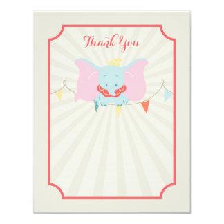 Dumbo | Girl Baby Shower Thank You Card