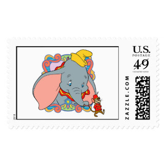 Dumbo is smiling Stamps