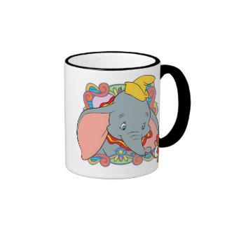 Dumbo is smiling Ringer Coffee Mug