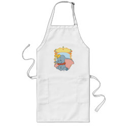 Long Apron with Mixed Media Cinderella design