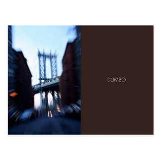 DUMBO-Moving to the Beat of the City Postcard