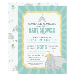 Dumbo | Neutral Baby Shower Card