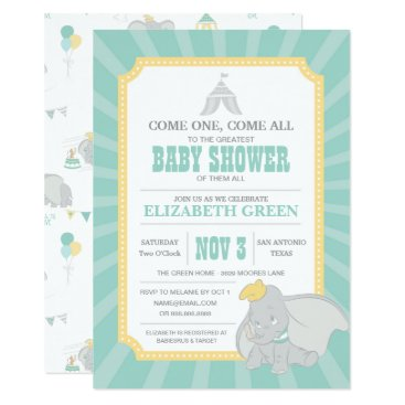 disney Dumbo | Neutral Baby Shower Card