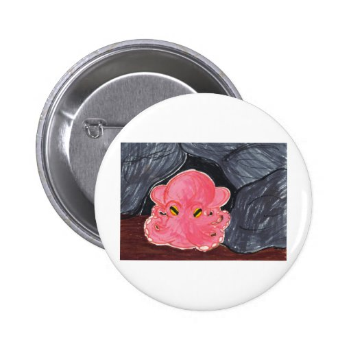 Dumbo Octopus 2 Inch Round Button