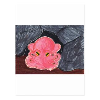 Dumbo Octopus Postcard