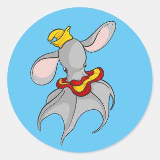 Dumbo Octopus Sticker Design