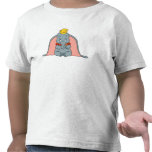 Dumbo que se sienta juguetónamente camiseta