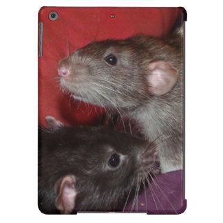 Dumbo rat brothers iPad Air case