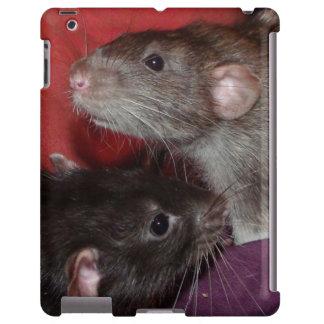 Dumbo rat brothers iPad case