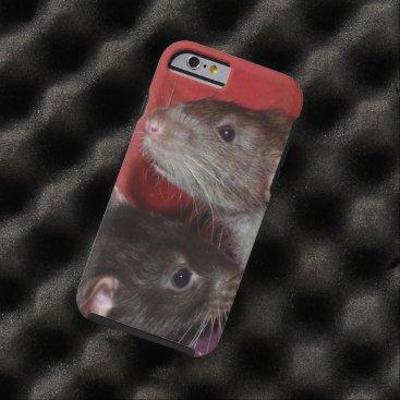 mindgoop Dumbo rat brothers iPhone 6 case