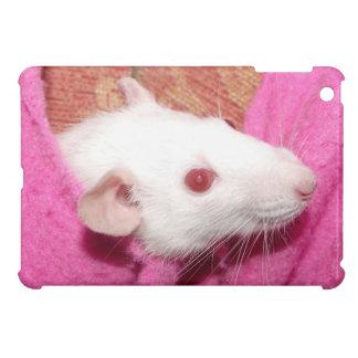 Dumbo rat in the pink iPad mini case