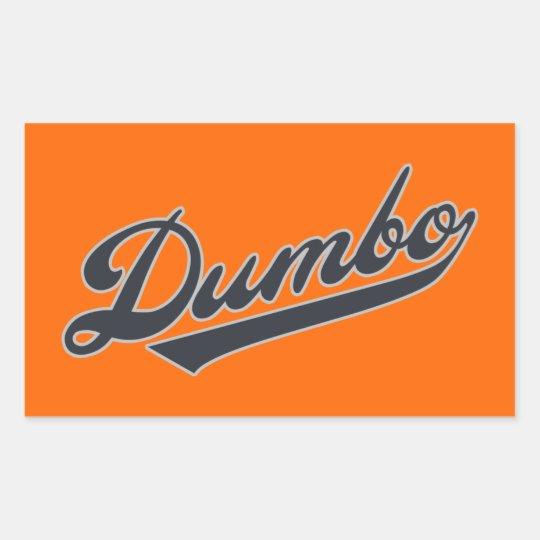Dumbo Rectangular Sticker