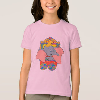Dumbo sitting in his trolley T-Shirt