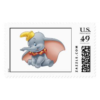 Dumbo Sitting Postage Stamps