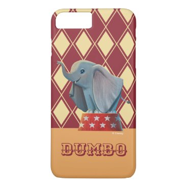 Dumbo   Smiling Atop Circus Podium iPhone 8 Plus/7 Plus Case