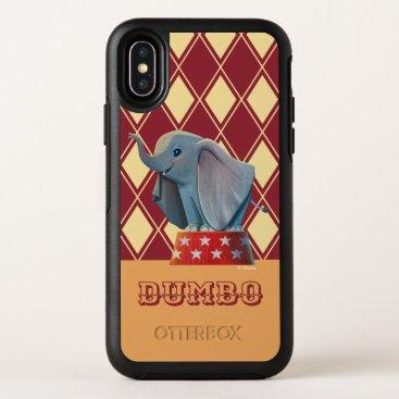 Dumbo   Smiling Atop Circus Podium OtterBox Symmetry iPhone X Case