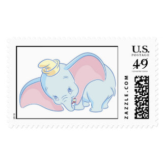 Dumbo standing postage