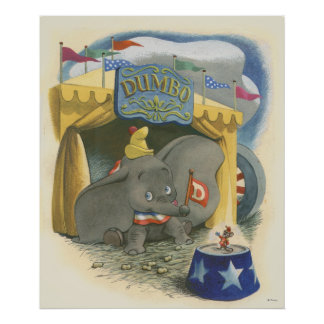 Dumbo Tent Poster