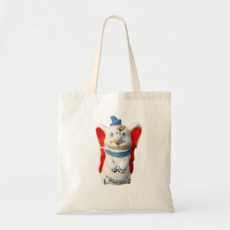 Dumbo The 1940s Vintage Tote in Primary Colors Budget Tote Bag