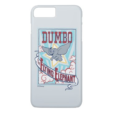 "Dumbo   ""The Flying Elephant"" Circus Art iPhone 8 Plus/7 Plus Case"