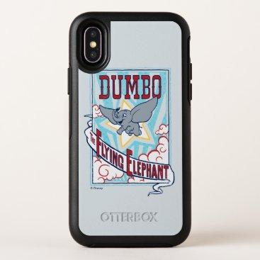 "Dumbo   ""The Flying Elephant"" Circus Art OtterBox Symmetry iPhone X Case"