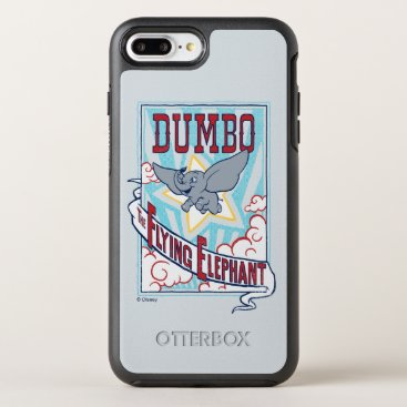 "Dumbo | ""The Flying Elephant"" Circus Art OtterBox Symmetry iPhone 8 Plus/7 Plus Case"