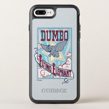 "Dumbo   ""The Flying Elephant"" Circus Art OtterBox Symmetry iPhone 8 Plus/7 Plus Case"
