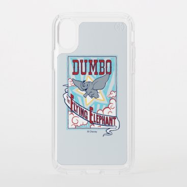 "Dumbo | ""The Flying Elephant"" Circus Art Speck iPhone XS Case"