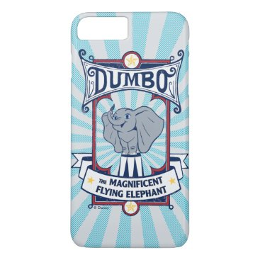 Dumbo | The Magnificent Flying Elephant Circus Art iPhone 8 Plus/7 Plus Case