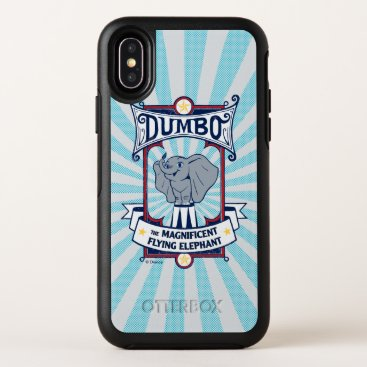 Dumbo   The Magnificent Flying Elephant Circus Art OtterBox Symmetry iPhone X Case