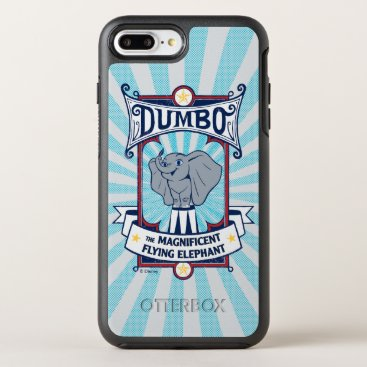 Dumbo | The Magnificent Flying Elephant Circus Art OtterBox Symmetry iPhone 8 Plus/7 Plus Case