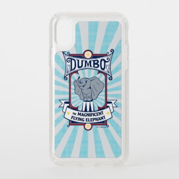 Dumbo | The Magnificent Flying Elephant Circus Art Speck iPhone XS Case